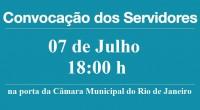 O SISEP-RIO convoca os servidores do município do Rio de Janeiro para assembleia, a fim de definir os rumos da greve. A assembleia será no dia 07 de julho de […]