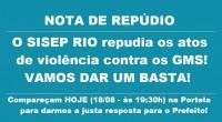 O SISEP RIO convoca todos os guardas municipais para o ato de hoje em forma de repúdio as agressões que os GMS vêm sofrendo sistematicamente e a Adminsitração Pública nada […]