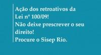 Guardas Municipais do Rio de Janeiro que estiverem interessado em ingressar com a competente ação judicial dos retroativos devem apresentaros seguintes documentos necessários, além de estar filiado ao SISEP […]