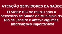 O SISEP RIO foi convidado a participar da reunião com o Secretário de Saúde do Município do Rio de Janeiro – Daniel Soranz, a fim de debater questões inerentes aos […]